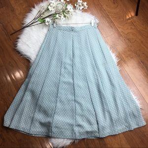 Vintage | Polka Dot Midi Skirt